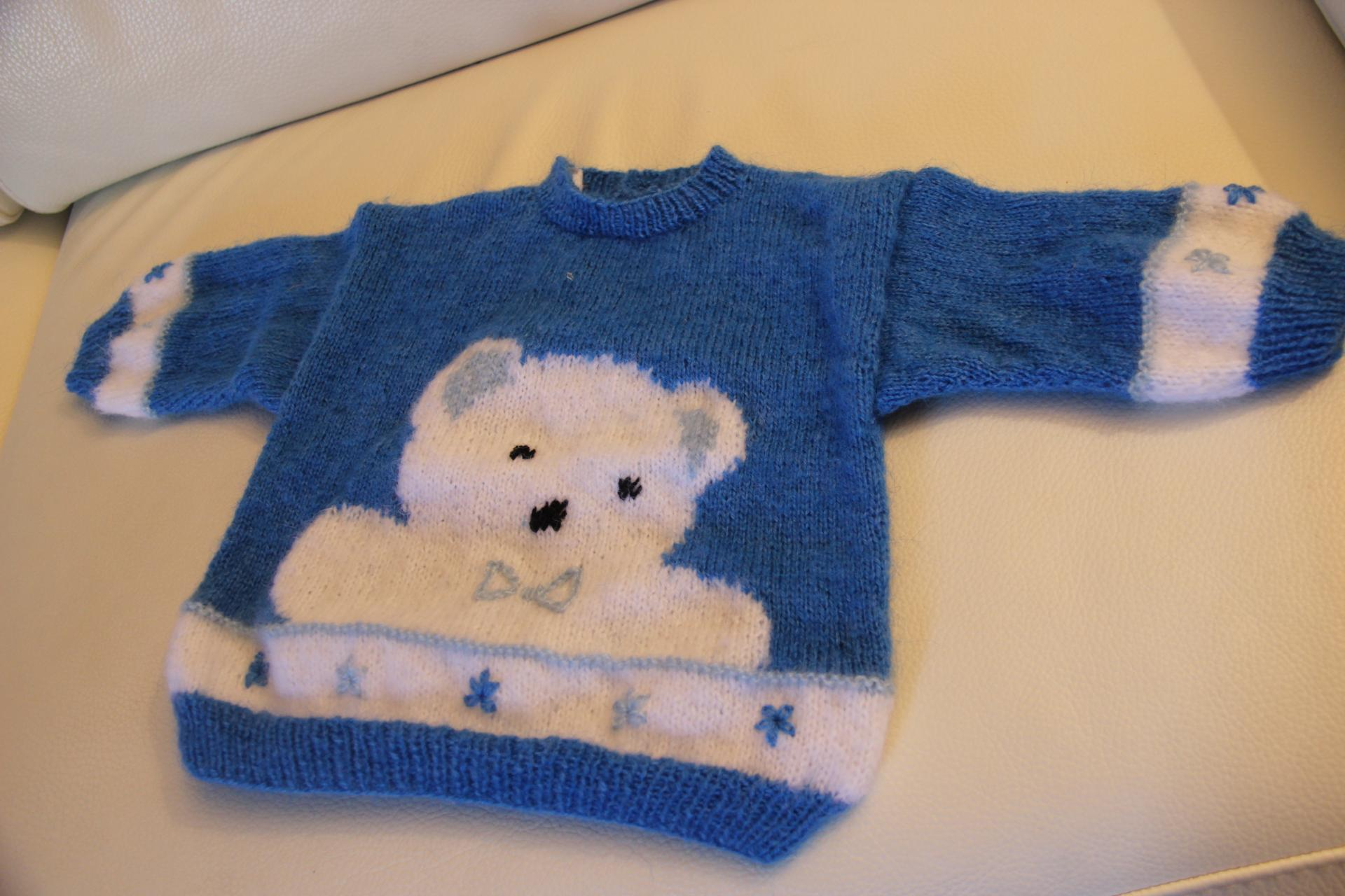 Pull petit ours - 2 ans