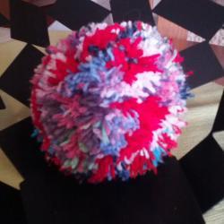 Pompon multicolore